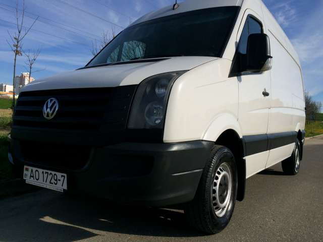 VW Crafter, 2008
