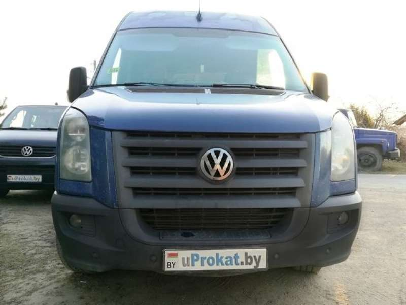 VW Crafter 2+1, 2008